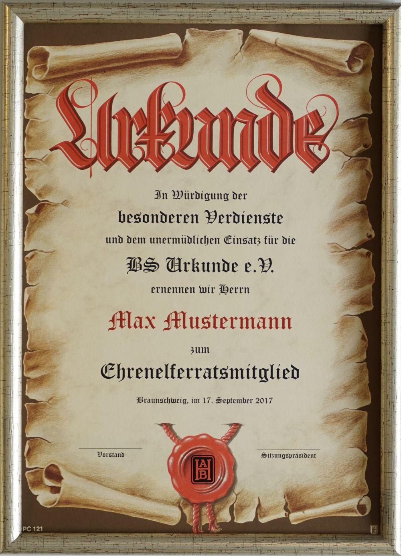 Urkunden24 Bilderrahmen - DIN A3 020-01-Silber-A3